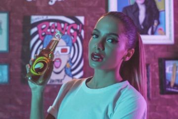 Anitta é a nova embaixadora da Skol